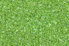 Groen schitter textuurachtergrond Royalty-vrije Stock Foto's
