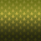 Groen sierpatroon Royalty-vrije Stock Foto