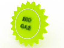 Groen ster biogas Royalty-vrije Stock Afbeelding
