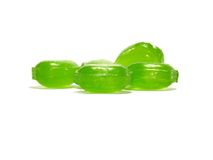 Groen suikergoed Stock Foto's