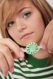 Groen suikergoed stock fotografie