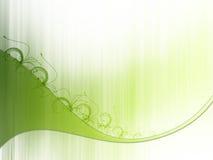 Groen takje Vector Illustratie