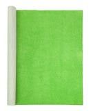 Groen tapijt - hoogste mening Royalty-vrije Stock Afbeeldingen