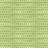 Groen theebladenpatroon Royalty-vrije Stock Fotografie
