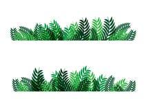 Groen van het bladeren abstract patroon vectorontwerp als achtergrond voor aardzaken royalty-vrije illustratie