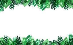 Groen van het bladeren abstract patroon vectorontwerp als achtergrond voor aardzaken stock illustratie