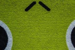 Groen veeg uw voeten in mijn huis af Royalty-vrije Stock Afbeelding