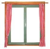 Groen venster Royalty-vrije Stock Foto