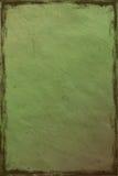 Groen verpletterd document als achtergrond Royalty-vrije Stock Foto