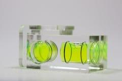 Groen waterpas   stock afbeeldingen