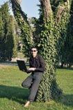Groen werken royalty-vrije stock fotografie