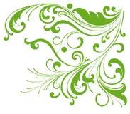 Groen wijnstokkenpatroon stock illustratie