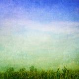 Groenachtig blauwe achtergrond stock illustratie