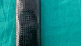 Groenachtig blauwe koolstof Royalty-vrije Stock Afbeeldingen