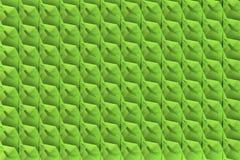 Groenachtige 3d textuur met shdows Stock Foto