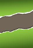 Groenboekscheur stock illustratie