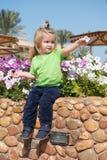 Groende tillväxt, barndom Royaltyfri Bild