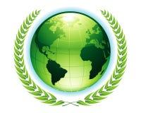 Groene Aarde Stock Afbeelding