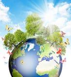 Groene Aarde. Stock Fotografie