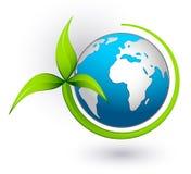 Groene aarde Stock Afbeeldingen