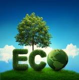 Groene aarde Royalty-vrije Stock Foto's
