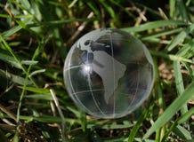Groene aarde Zuid-Amerika Stock Fotografie