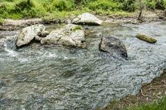 Groene aardmening van Ihlara-vallei stock afbeelding