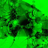 Groene abstracte achtergrond Stock Afbeeldingen