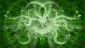 Groene Abstracte Achtergrond Royalty-vrije Stock Afbeelding