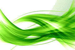 Groene abstracte achtergrond Stock Afbeelding