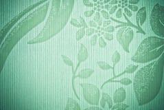 Groene abstracte achtergrond Stock Foto