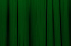 Gordijn Of Gordijn Donkergroene Achtergrond Stock Afbeelding ...