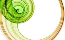 Groene abstracte achtergrond Stock Foto's