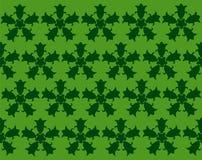 Groene abstracte achtergrond met klokken Stock Afbeeldingen