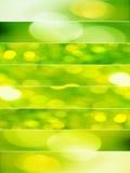 Groene abstracte achtergronden Royalty-vrije Stock Foto