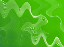 Groene Abstracte Draden Royalty-vrije Stock Foto's