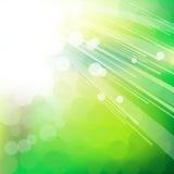Groene abstracte lichte achtergrond. stock illustratie