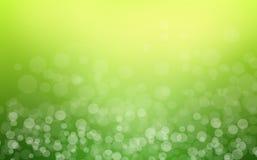 Groene abstracte lichte achtergrond Royalty-vrije Stock Afbeelding