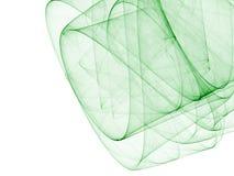 Groene abstracte samenstelling Stock Fotografie