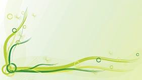 Groene achtergrond Royalty-vrije Stock Fotografie