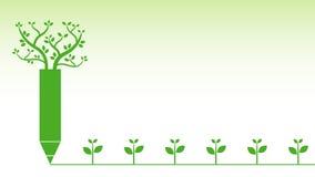 Groene achtergrond Stock Afbeeldingen