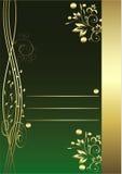 Groene achtergrond Royalty-vrije Stock Afbeeldingen
