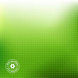 Groene Achtergrond Eco royalty-vrije illustratie