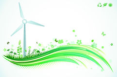 Groene Achtergrond Eco Royalty-vrije Stock Afbeeldingen
