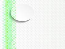Groene achtergrond gekleurde mozaïektegels voor badkamers vector illustratie