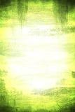 Groene Achtergrond Grunge Stock Afbeelding
