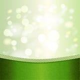 Groene achtergrond met lichteffecten. Stock Foto's