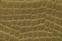 Groene achtergrond van zacht stofferings textielproduct, close-up Stof met patroon Royalty-vrije Stock Fotografie