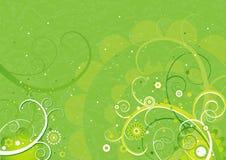 Groene achtergrond, vector   Stock Afbeelding