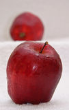 Groene & rode appel Royalty-vrije Stock Afbeeldingen